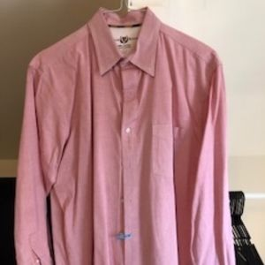 Salmon Button Down - Club Room